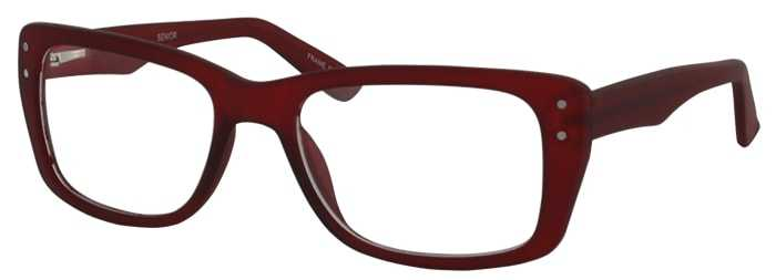 Prescription Glasses Model SENIOR-BURGUNDY-45