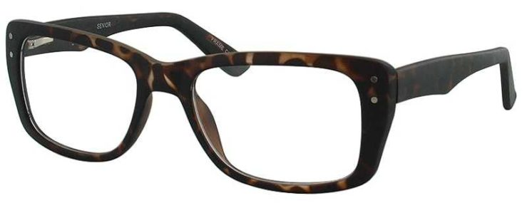 Prescription Glasses Model SENIOR-TORTOISE-45