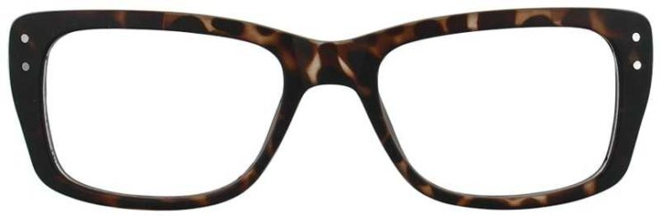 Prescription Glasses Model SENIOR-TORTOISE-FRONT