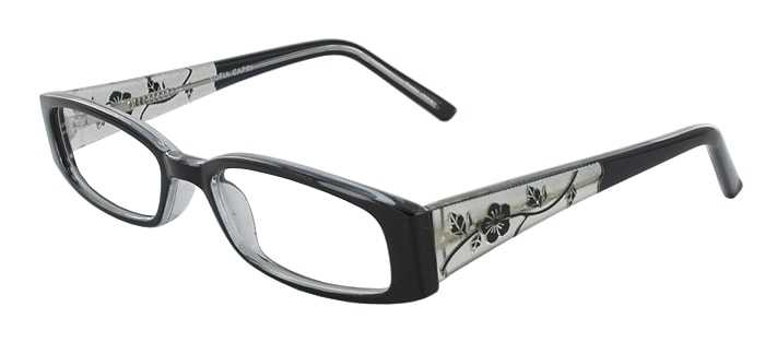 Prescription Glasses Model SOFIA-BLACK-45