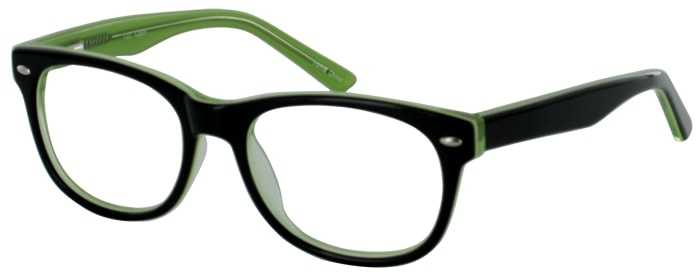 Prescription Glasses Model T22-BLACK-45
