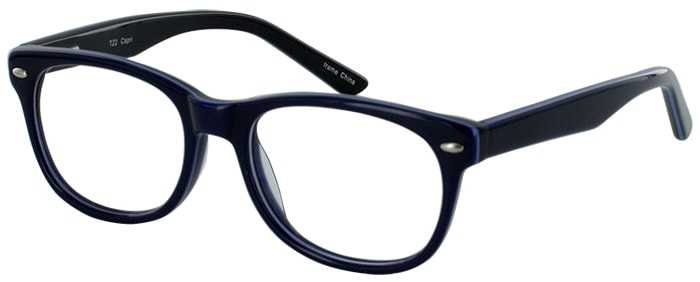 Prescription Glasses Model T22-BLUE-45