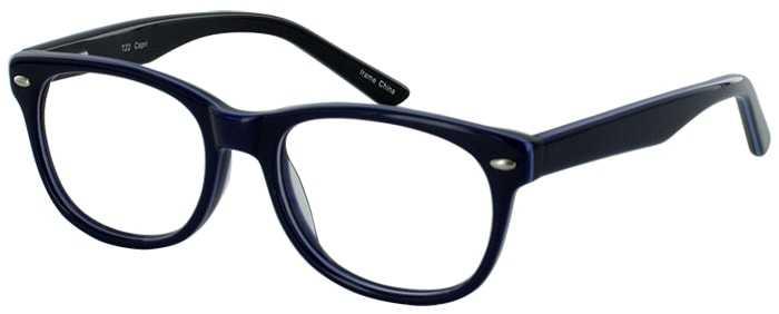 Prescription Glasses Model T22-BLUE-45