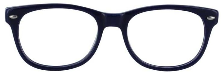 Prescription Glasses Model T22-BLUE-FRONT