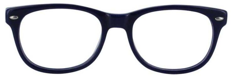 Prescription Glasses Model T22-BLUE-FRONT