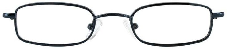 Prescription Glasses Model T10-BLUE-FRONT