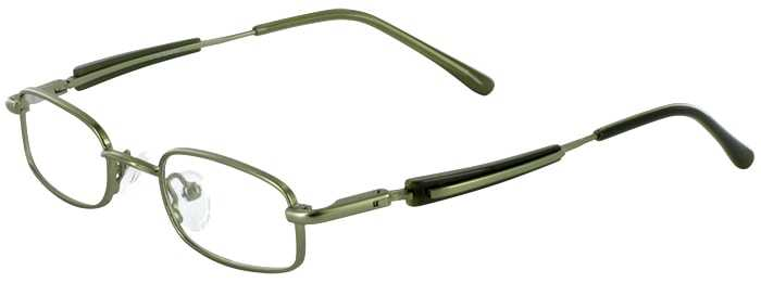 Prescription Glasses Model T10-GREEN-45