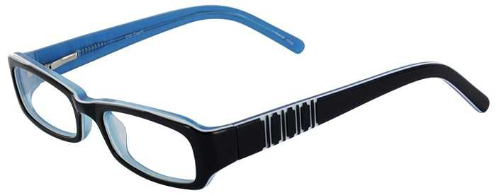 Prescription Glasses Model T15-BLUE-45