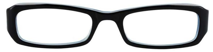 Prescription Glasses Model T15-BLUE-FRONT