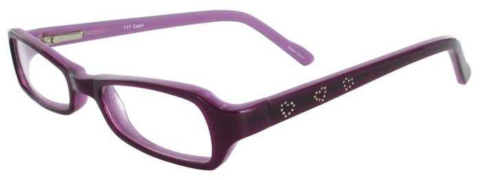 Prescription Glasses Model T17-PURPLE-45