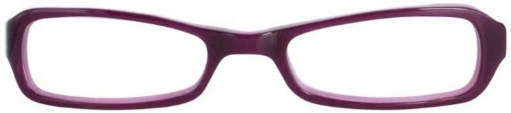 Prescription Glasses Model T17-PURPLE-FRONT