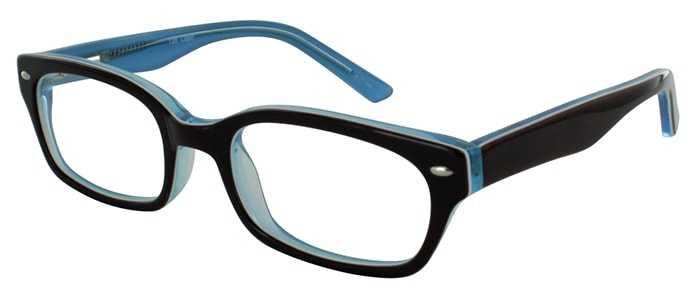 Prescription Glasses Model T20-BROWN-45