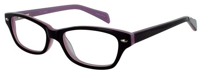 Prescription Glasses Model T21-PURPLE-45