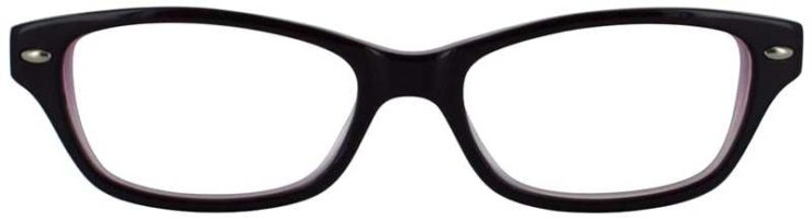 Prescription Glasses Model T21-PURPLE-FRONT
