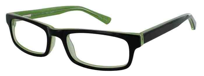 Prescription Glasses Model T23-BLACK-45