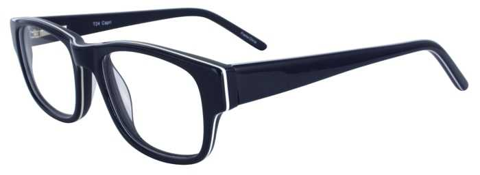 Prescription Glasses Model T24-BLUE-45