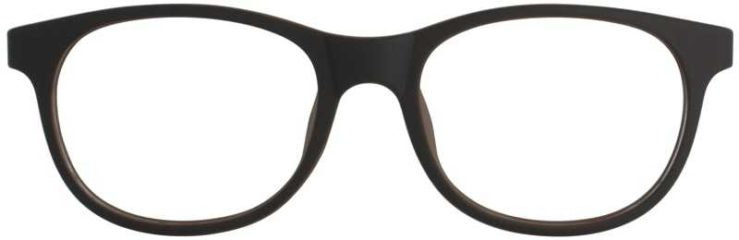 Prescription Glasses Model T28-BROWN-FRONT