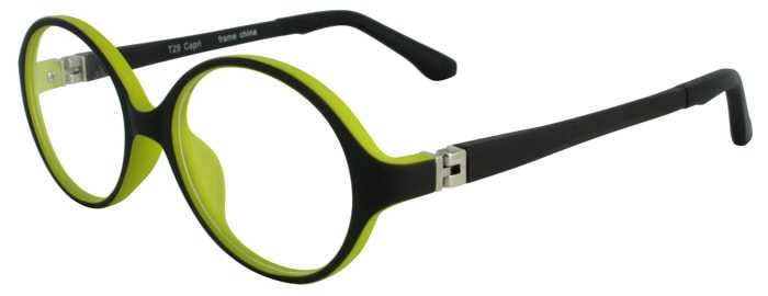 Prescription Glasses Model T29-BLACK-45