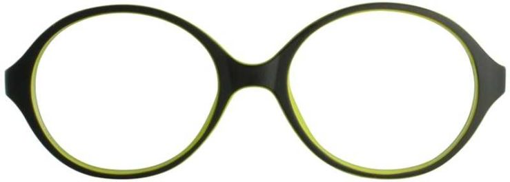 Prescription Glasses Model T29-BLACK-FRONT