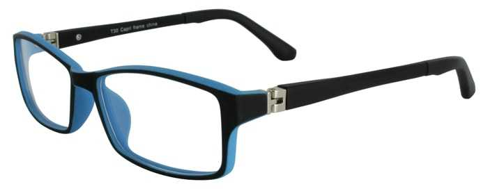 Prescription Glasses Model T30-BLACK-45