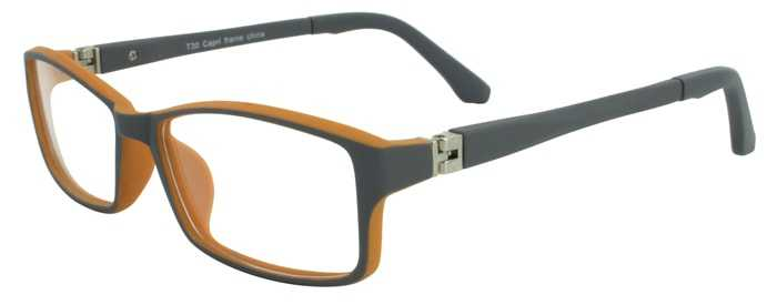 Prescription Glasses Model T30-GREY-45
