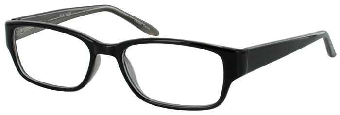 Prescription Glasses Model TEACHER-BLACK-45