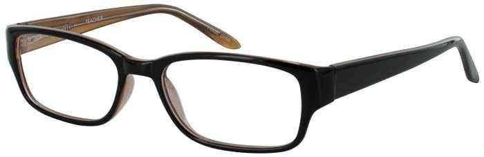 Prescription Glasses Model TEACHER-BROWN-45