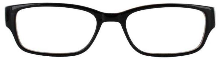 Prescription Glasses Model TEACHER-BROWN-FRONT