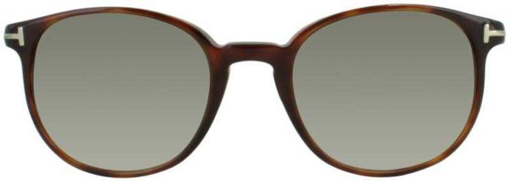 Tom Ford Prescription Glasses Model TF126-54J-FRONT