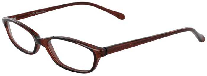 Prescription Glasses Model U10-BROWN-45