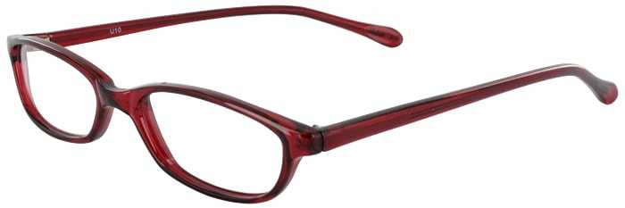 Prescription Glasses Model U10-BURGUNDY-45