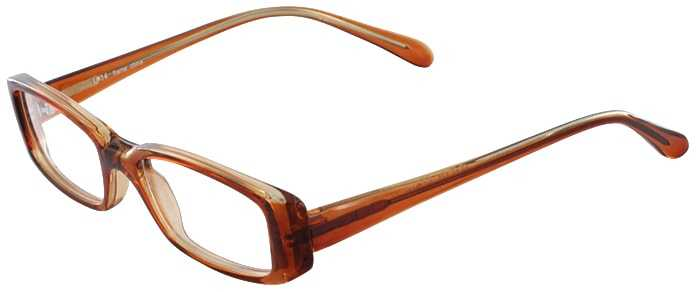 Prescription Glasses Model U14-BROWN-45