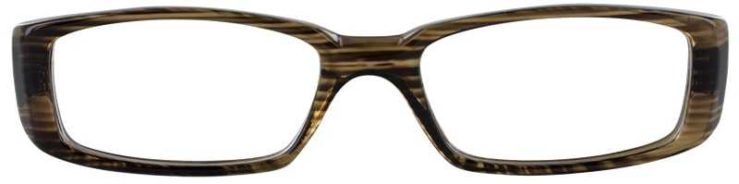 Prescription Glasses Model U14-GREY MARBLE-FRONT