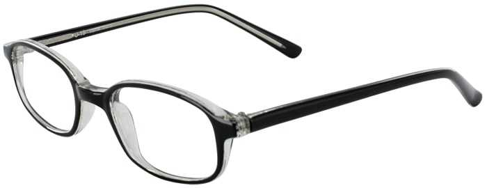 Prescription Glasses Model U19-BLACK CRYSTAL-45