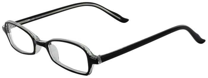 Prescription Glasses Model U20-BLACK CRYSTAL-45
