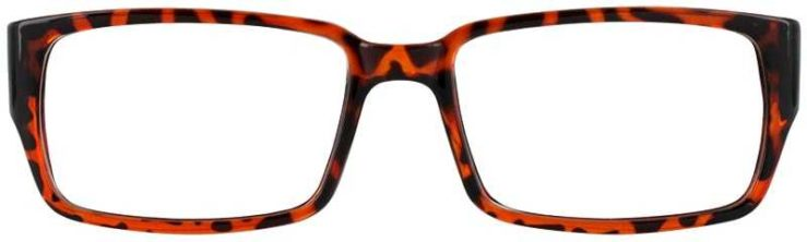 Prescription Glasses Model U200-TORTOISE-FRONT