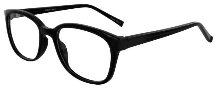 Prescription Glasses Model U203-BLACK-45