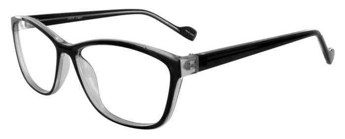 Prescription Glasses Model U204-BLACK-45