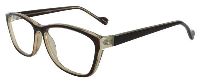 Prescription Glasses Model U204-BROWN-45
