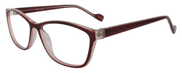 Prescription Glasses Model U204-WINE-45