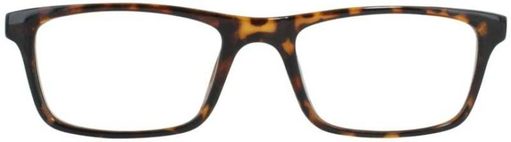 Prescription Glasses Model U205-TORTOISE-FRONT