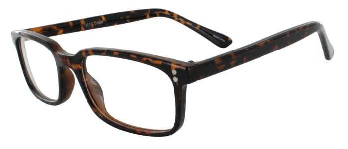 Prescription Glasses Model U207-TORTOISE-45