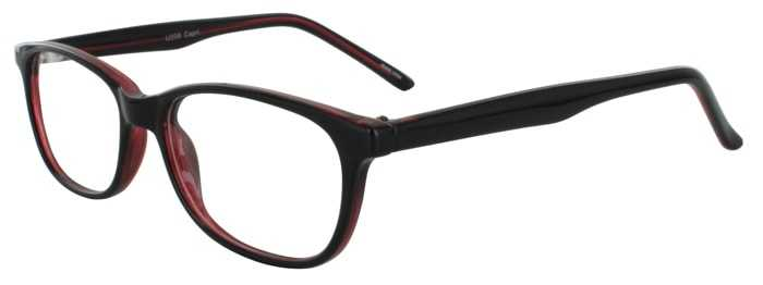 Prescription Glasses Model U208-BLACKWINE-45