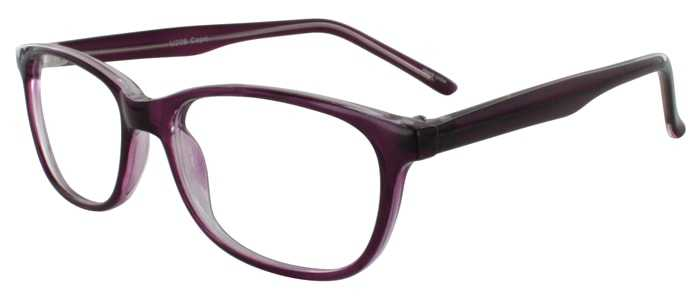Prescription Glasses Model U208-PURPLE-45