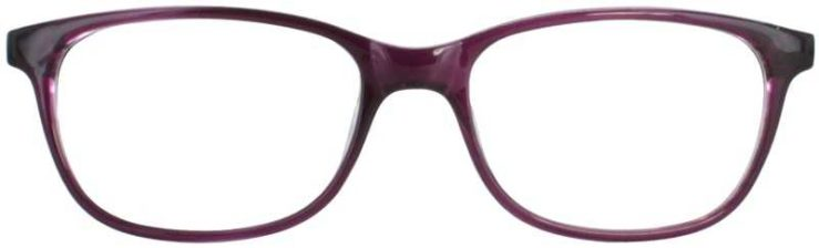 Prescription Glasses Model U208-PURPLE-FRONT