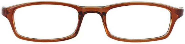 Prescription Glasses Model U23-BROWN-FRONT