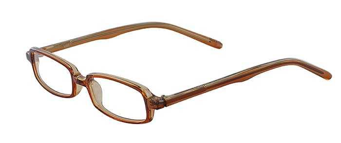 Prescription Glasses Model U31-BROWN-45