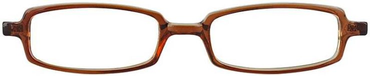 Prescription Glasses Model U31-BROWN-FRONT