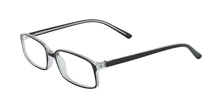 Prescription Glasses Model U32-BLACK-45
