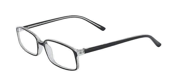 Prescription Glasses Model U32-BLACK-45